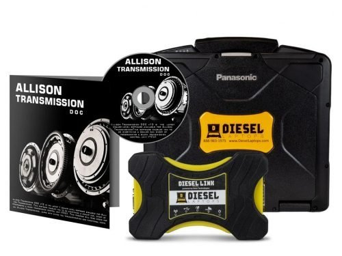 Allison Transmission DOC Fleets Diagnostic kit Laptop