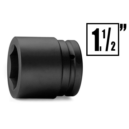 Impact socket and accessories 1 inches-1 inches1/2 inches