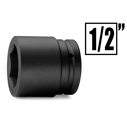 Impact socket and accessories 1/2 inches