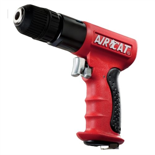 """AIRCAT 3/8"""" Drive Reversible Red Composite Drill"""
