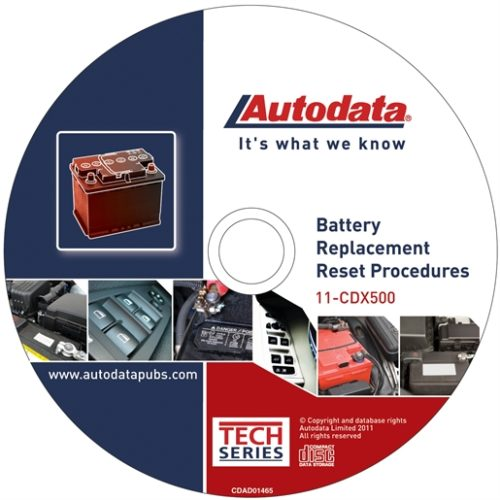 Battery Replacement Reset Procedure CD