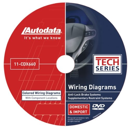 2011 Wiring Diagrams DVD - SRS and ABS