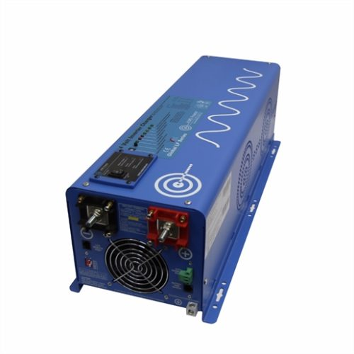 6000WT INVERTER CHARGER 24 VDC TO 120/240 VAC