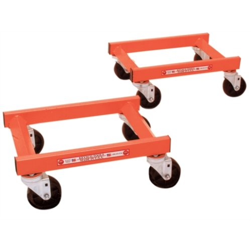 WHEEL DOLLIES SET OF 2 1200LBS EA.
