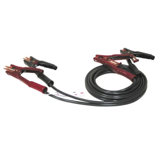 BOOSTER CABLE 500A 12FT 4 AWG SIDE TERMINAL ADAPT