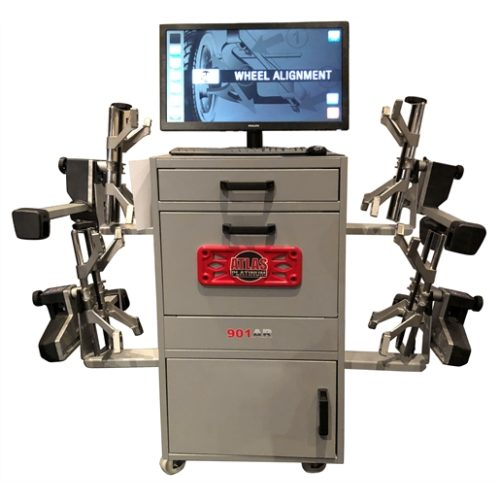 WHEEL ALIGNMENT SYSTEM WITH ADAS