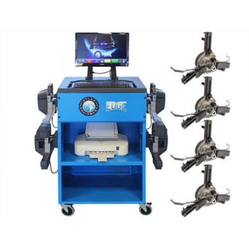 WIRELESS 8 CAMERA ALIGNMENT MACHINE WITH FASTCLAMP