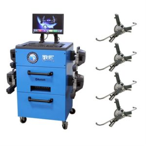 BLUETOOTH WIRELESS ALIGNMENT MACHINE / 3PT CLAMPS