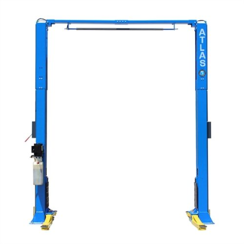9000 LB. CAPACITY 2-POST LIFT WITH HEIGHT EXT.