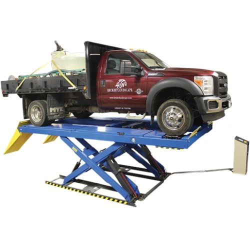 16000 LB. ALIGNMENT SCISSOR LIFT - CLOSED FRONT