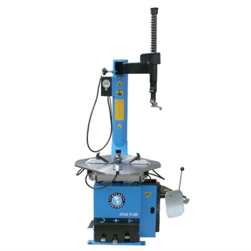 Swing-arm tire changer