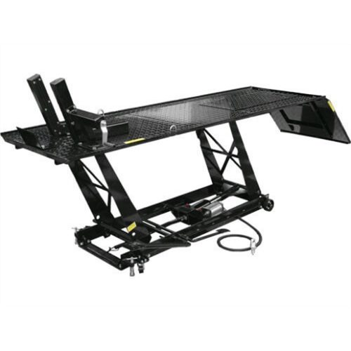 MOTORCYCLE LIFT 1000 LB CAPACITY AIR/HYDRAULIC