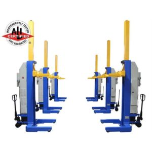 99000 LB. BATTERY POWERED MOBILE COLUMN LIFT SYST