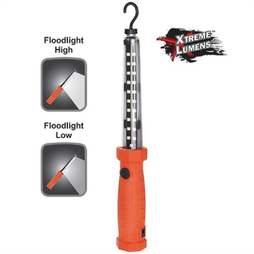 600/225 Lumens Recharge Work Light - Red