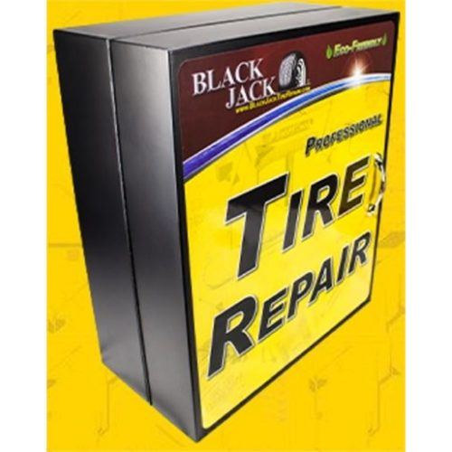 Stocked Tire Repair Cabinet, Heavy Duty Assortment