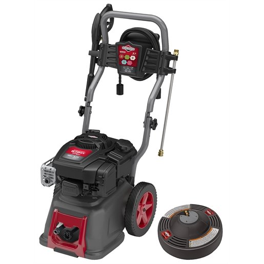 """Pressure Washer w/ 14"""" Surface Cleaner and Second Story Nozzle Kit, 3000 PSI, 2.7 GPM"""