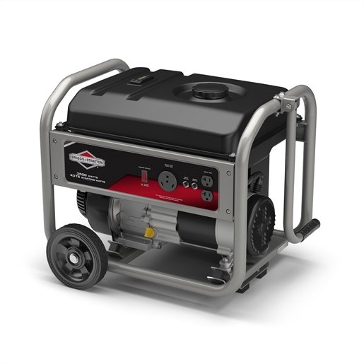 Portable Generator, 3500 Watts with RV Outlet