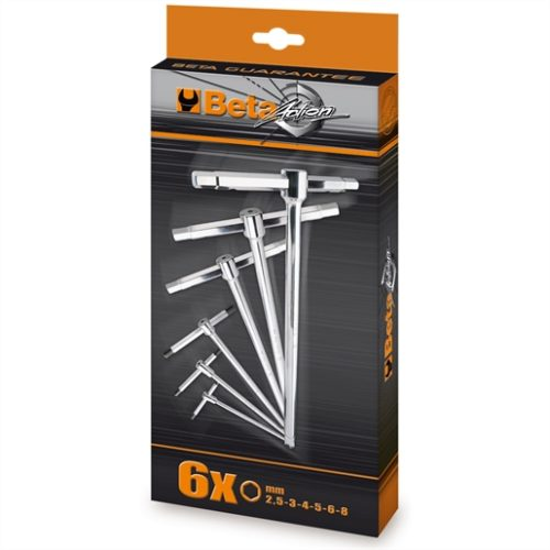 951/S6-SET OF 6 T-HANDLE WRENCHES 951