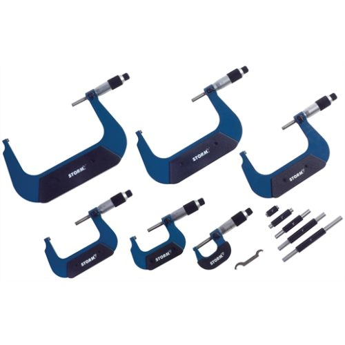 IMPORT OUTSIDE MICROMETER 6PC SET