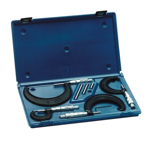 MICROMETER SET 0-4 4PC