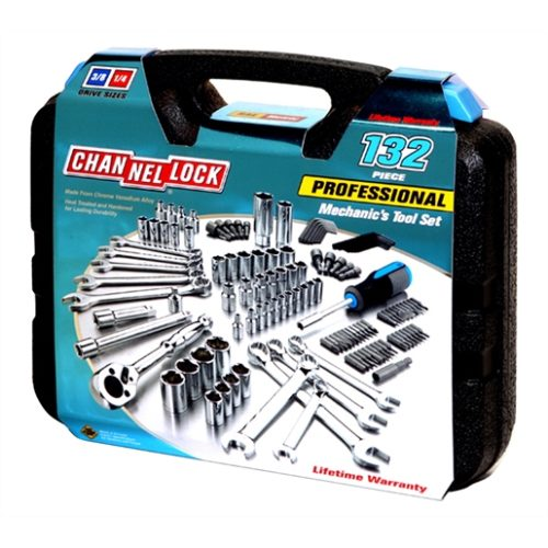 132-PC MECHANIC'S TOOL SET