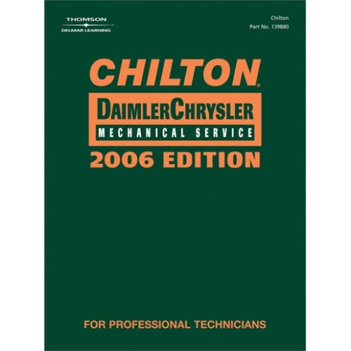 CHILTON 2006 CHRYSLER MECHANICAL SERVICE MANUAL