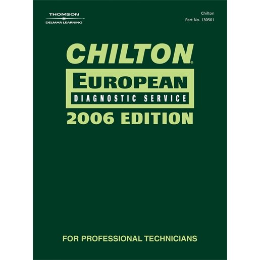 CHILTON 2006 EUROPEAN DIAGNOSTIC MANUAL