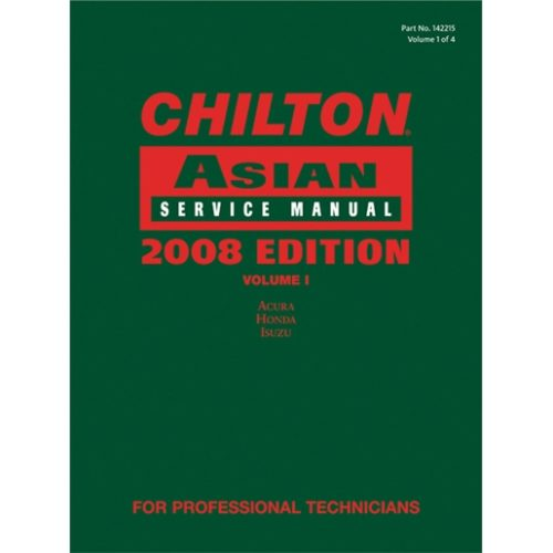 Chilton 2008 Asian Service Manual Volume 1