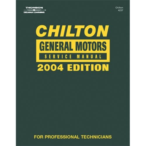 GM SVC MANUAL 2000-2004