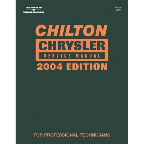 CHRYSLER SVC MANUAL 2000-2004