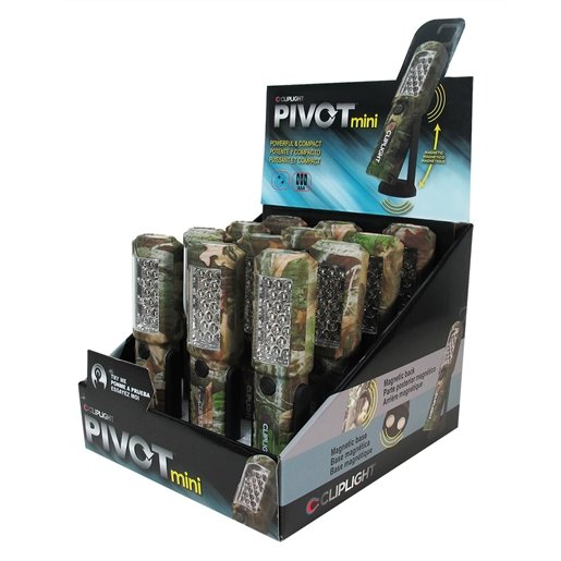 12PC Pivot Mini Camo Dislay Box