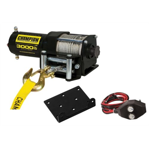 Champion Power Equip. 3,000 lb. Power Winch Kit