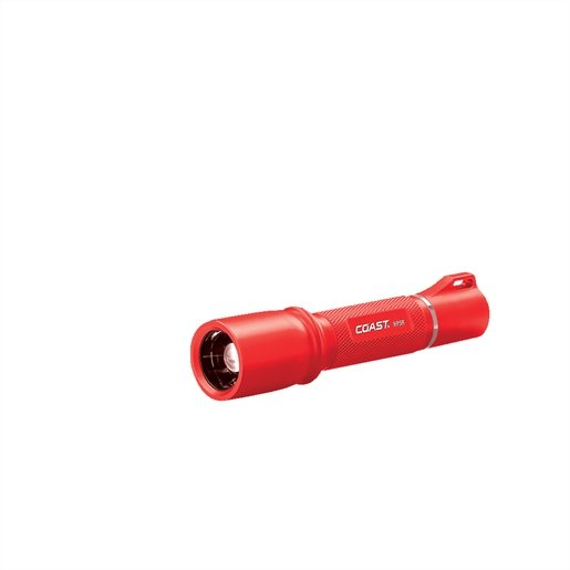 HP5R Rechargeable Flashlight red body in gift box