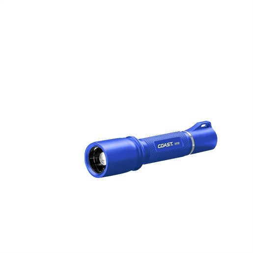 HP5R Rechargeable Flashlight blue body in gift box