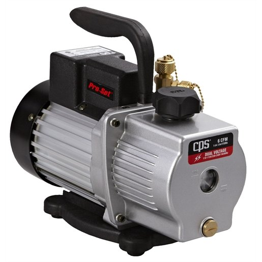 6 CFM SINGLE STAGE VACUUM PUMP
