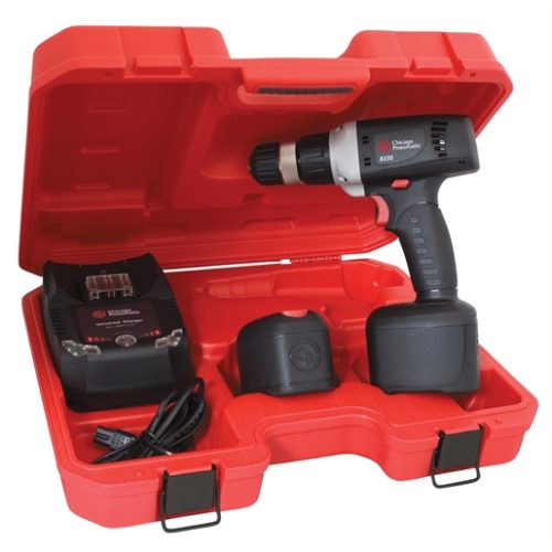 "CORLESS DRIVER 3/8"" DRILL W/2 LI-ION BATTERIES"