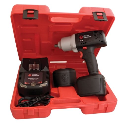 "1/2"" CORDLESS IMPACT W/2 LI-ION BATTERIES & CHARGE"