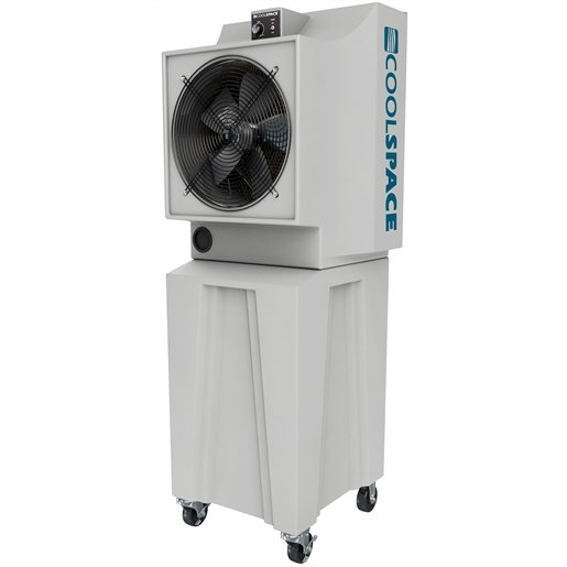 """18"""" Evaporative Cooler, Variable Speed, 42 Gallon"""