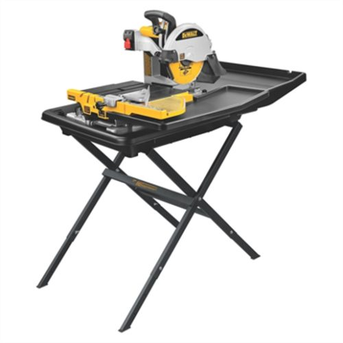"""10"""" WET TILE SAW W/STAND"""