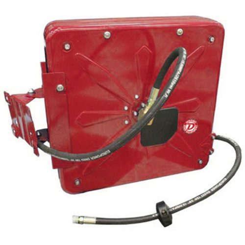 "HP OIL/GREASE HOSE REEL, 50FT, 3/8"", 4000PSI"