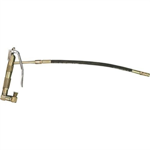 Grease Gun With Flexible Line And Swivel Fitting