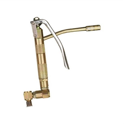 Grease Gun With Rigid Line And Swivel Fitting