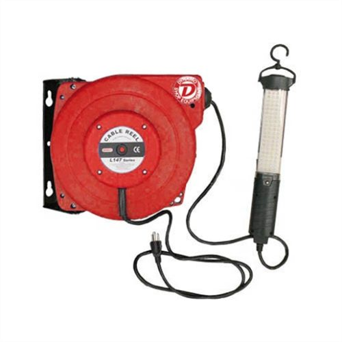 50 FT. WATER/OIL PROOF, ELECTRIC CABLE REEL WITH L