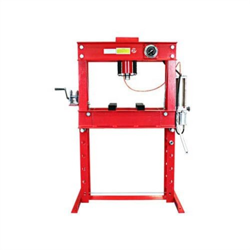 45 TON AIR/HYDRAULIC SHOP PRESS WITH GRID GUARD
