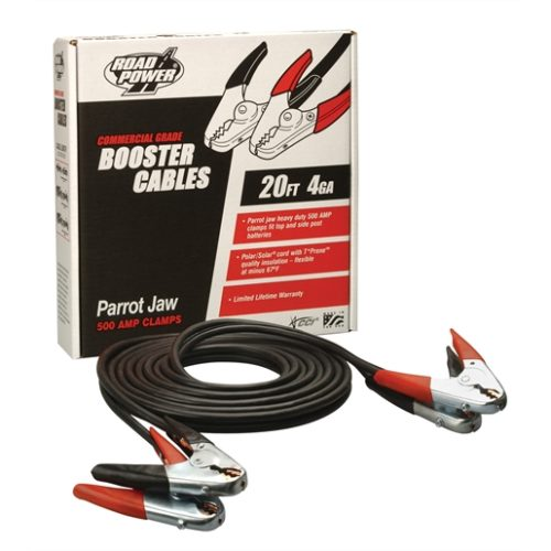 500 AMP 20' PARROT JAW CLAMPS
