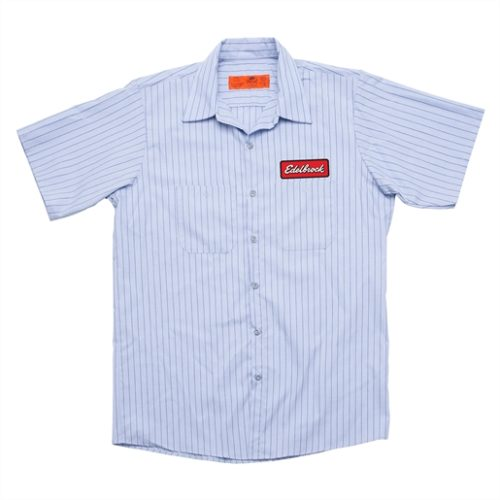 BADGE WORK SHIRT L