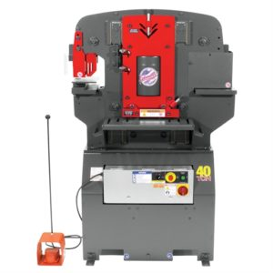 EDW 40T IRONWORKER - 3PH, 230V, ACC PACK