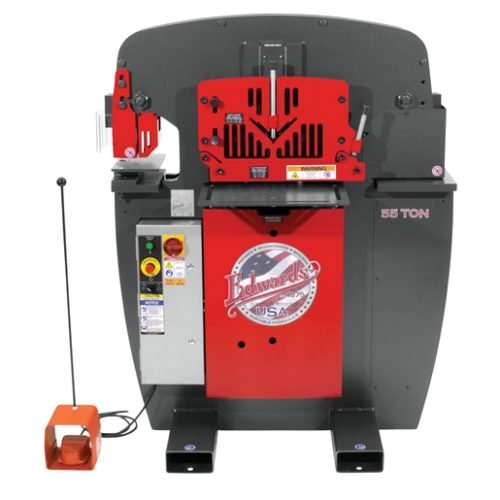 EDW 55T IRONWORKER - 3PH, 230V, ACC PACK
