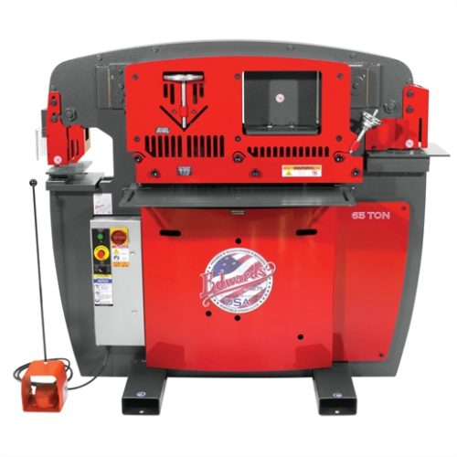 EDW 65T IRONWORKER - 1PH, 230V, ACC PACK