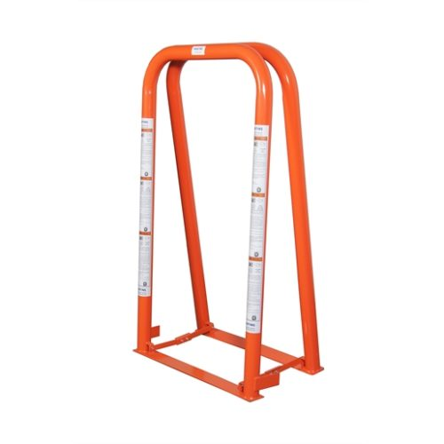2 BAR WIDE BASE PORTABLE TIRE CAGE